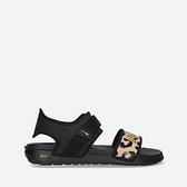 PUMA Softride Sandal Wns Leo 女款黑色豹紋休閒涼拖鞋-NO.38072201