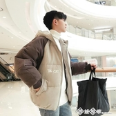 2019冬季棉衣男士韓版外套青年面包服短款情侶棉襖學生羽絨棉服潮  西城故事