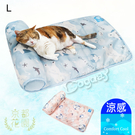 狗日子《京都花園》冰雪北極熊床枕 [L] 涼感床 寵物散熱 小型犬/喵星人適用