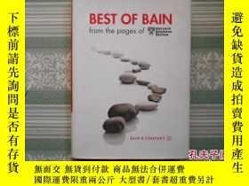 二手書博民逛書店best罕見of bain from the pages of1