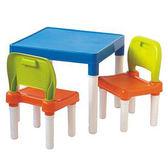 活力兒童桌椅組(1桌2椅)