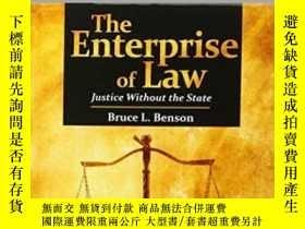 二手書博民逛書店The罕見Enterprise Of LawY364682 Bruce L. Benson Independe