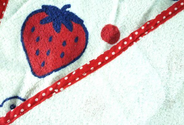 【震撼精品百貨】Hello Kitty 凱蒂貓~長毛巾~草莓