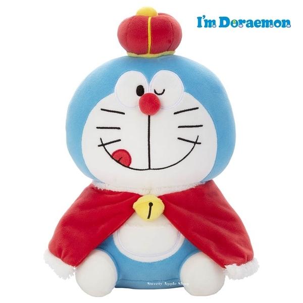 日本限定 Doraemon 哆啦a夢 國王版 50週年 Mocchi-Mocchi 玩偶娃娃 M號 32.5cm