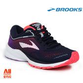 【BROOKS】女款避震型慢跑鞋 Launch 5 -黑瑩紫(661B460)-現貨/預購【全方位運動戶外館】