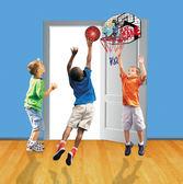 籃球架懸掛式投籃框小孩室內家用可移動 igo 數碼人生
