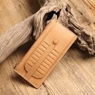 【Solomon 原創設計皮件】超強收納真皮卡夾 多卡夾錢包 牛皮信用卡名片夾長夾