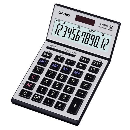 【公司貨附保卡】CASIO JS-120TVS 12位數計算機