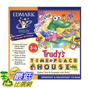 [106美國暢銷兒童軟體] Trudy s Time & Place House