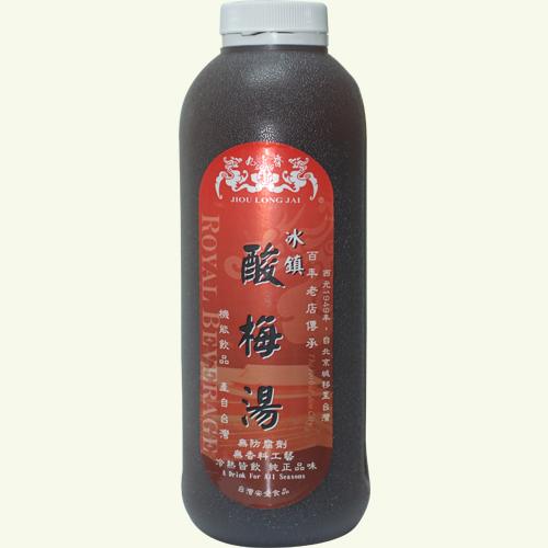 九龍齋 發酵酸梅湯 960ml/瓶 4瓶 酸梅湯 無防腐劑