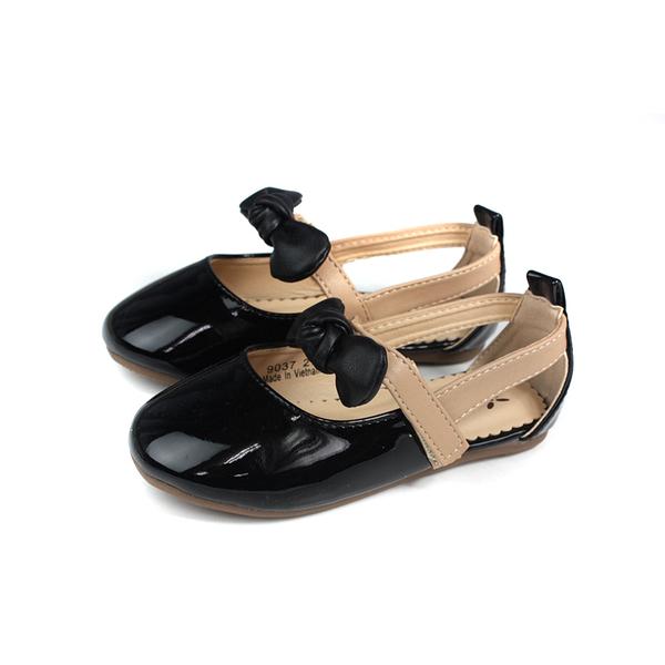 Private 娃娃鞋 黑色 蝴蝶結 中童 童鞋 9037-04 no267 16~19.5cm