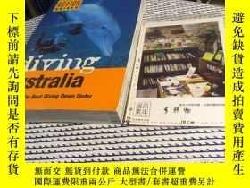二手書博民逛書店英文原版罕見Diving Australia : A guide