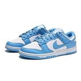 NIKE 休閒鞋 DUNK LOW 北卡藍 經典 球鞋穿搭 男 (布魯克林) DD1391-102