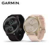 Garmin vivomove Style 指針智慧腕錶 (編織尼龍款錶帶) (42mm)