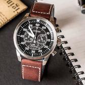 【公司貨5年延長保固】CITIZEN CA4210-16E 光動能計時男錶