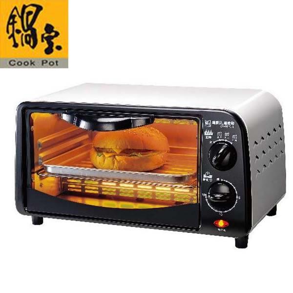 鍋寶雙旋紐不鏽鋼9L電烤箱 OV-0910