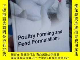 二手書博民逛書店Poultry罕見Farming and Feed FORMUL