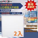 (2入) 新年價 LED 標準版 平板燈...