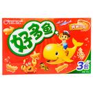 好麗友好多魚餅乾-烤蝦(大盒90g)【合迷雅好物超級商城】