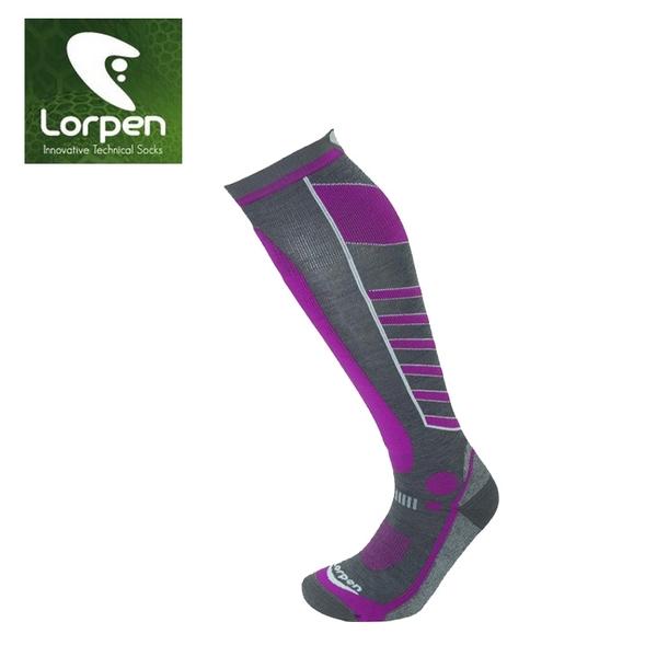 LORPEN T3 女Primaloft美麗諾羊毛滑雪襪S3WL/城市綠洲(吸濕排汗、快乾涼爽、柔軟舒適)