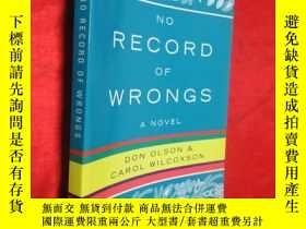二手書博民逛書店No罕見Record of Wrongs (小16開) 【詳見圖