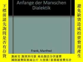 二手書博民逛書店Der罕見Unendliche Mangel An SeinY364682 Manfred Frank Wil
