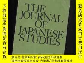 二手書博民逛書店THE罕見JOURNAL OF JAPANESE STUDIES