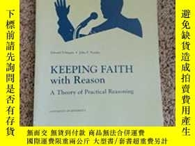 二手書博民逛書店Keeping罕見Faith With ReasonY256260 Schiappa Pearson 出版2