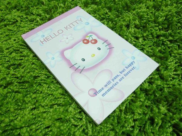 【震撼精品百貨】Hello Kitty 凱蒂貓~造型便條紙-櫻桃圖案【共1款】