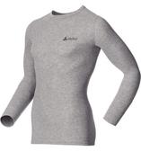 【速捷戶外】《ODLO》152022 機能銀纖維長效保暖排汗內衣 - 男圓領 灰