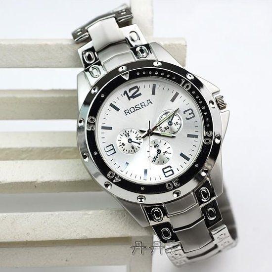 時尚潮流高品質三眼機械造型錶(3款)  情人節禮物【Vogues唯格思】C045