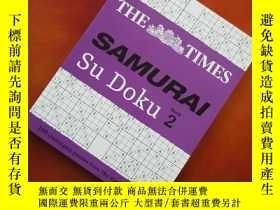 二手書博民逛書店The罕見Times Samurai Su Doku: Bk. 2 英文原版 收3塊運費Y396792