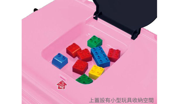 日本 迪士尼 Disney 凱蒂貓 Hello Kitty堆疊式玩具收納車/收納箱