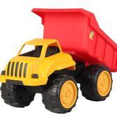 聖誕回饋 大號工程車挖掘機模型戶外沙灘兒童男孩玩具仿真慣性挖土機汽車