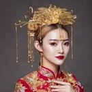 新娘頭飾中式大氣