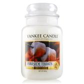 YANKEE CANDLE香氛蠟燭-營火 Fireside Treats(623g)