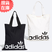 【現貨】Adidas Shopper 手提袋 購物袋 側背 休閒 白 / 黑【運動世界】FT8539 / FT8540