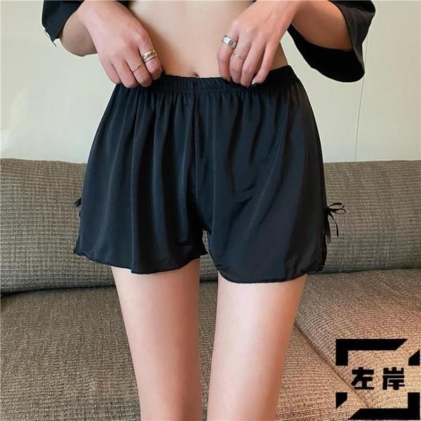 打底褲高腰顯瘦夏季蕾絲防走光休閒寬鬆短褲內搭褲【左岸男裝】