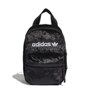adidas 後背包 Mini Backpack 黑 白 男女款 小包包 運動休閒 絨毛布 【ACS】 ED5872