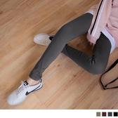《BA5259》全鬆緊腰頭修身彈性窄管褲 OrangeBear
