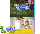 [107美國直購] 美國暢銷軟體 Adobe Photoshop Elements 2018 & Premiere Elements 2018 Student