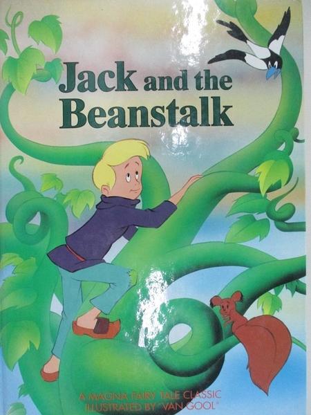 【書寶二手書T4/少年童書_I4Z】JACK AND THE BEAN-STALK_VAN GOOL