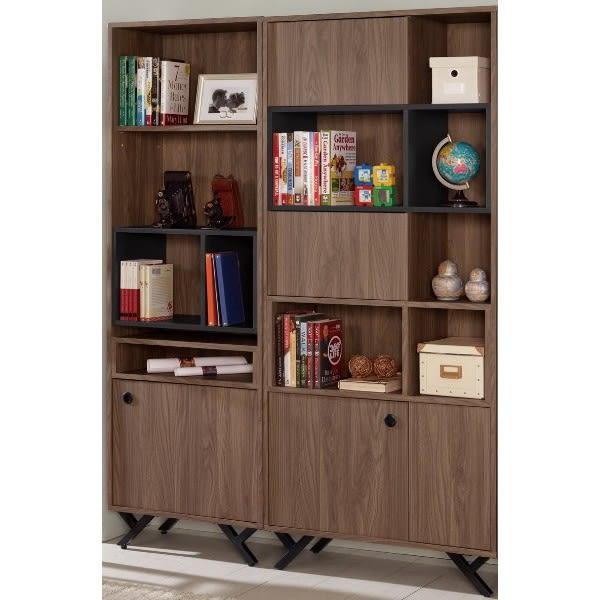 書櫃 書櫥 MK-872-24 約克4.7尺開門書櫥【大眾家居舘】