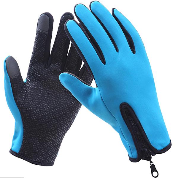 防曬觸控手套防水男女透氣拉鏈式機車止防滑騎行騎士摩托車機車自行車腳踏車保暖運動護具保護