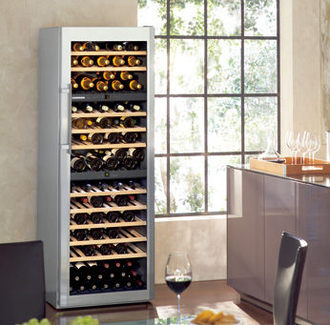 LIEBHERR 德國 利勃 WS17800 獨立式三重箱溫紅酒櫃 (391L)【零利率】(期貨)