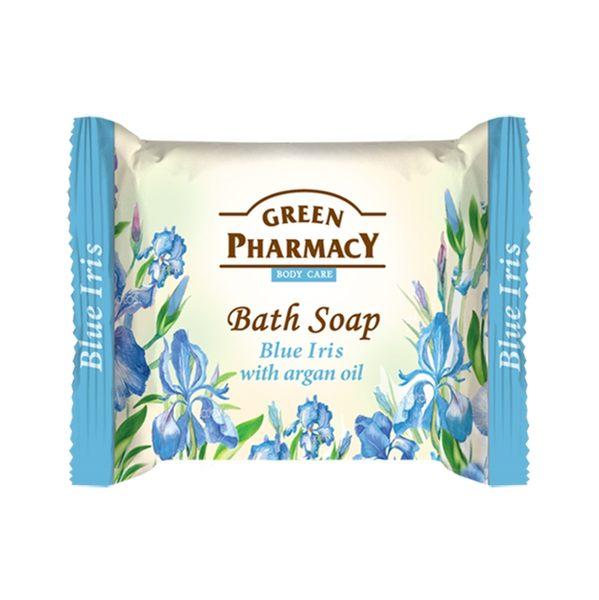 岡山戀香水~Green Pharmacy 草本肌曜 藍鳶尾&摩洛哥堅果喚采皂 100g ~優惠價:79元