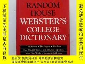 二手書博民逛書店Random罕見House Websters College D