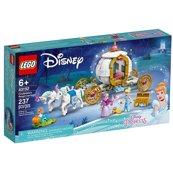 LEGO樂高 Disney系列 Cinderella's Royal Carriage_LG43192