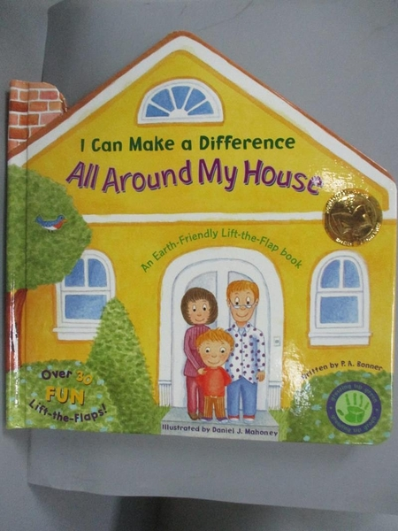 【書寶二手書T1/少年童書_WEI】I Can Make a Difference All Around My House..._P. A. Bonner