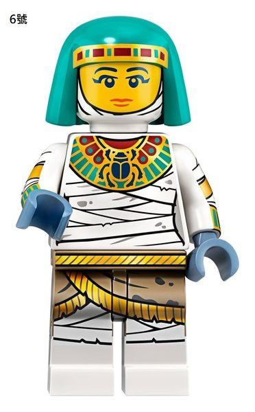樂高LEGO Minifigures 第19彈 人偶組 人偶包 6號 Mummy Queen 拆袋檢查全新販售 71025 TOYeGO 玩具e哥